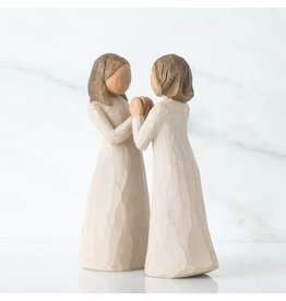 Willow Tree Sisters By Heart Figure