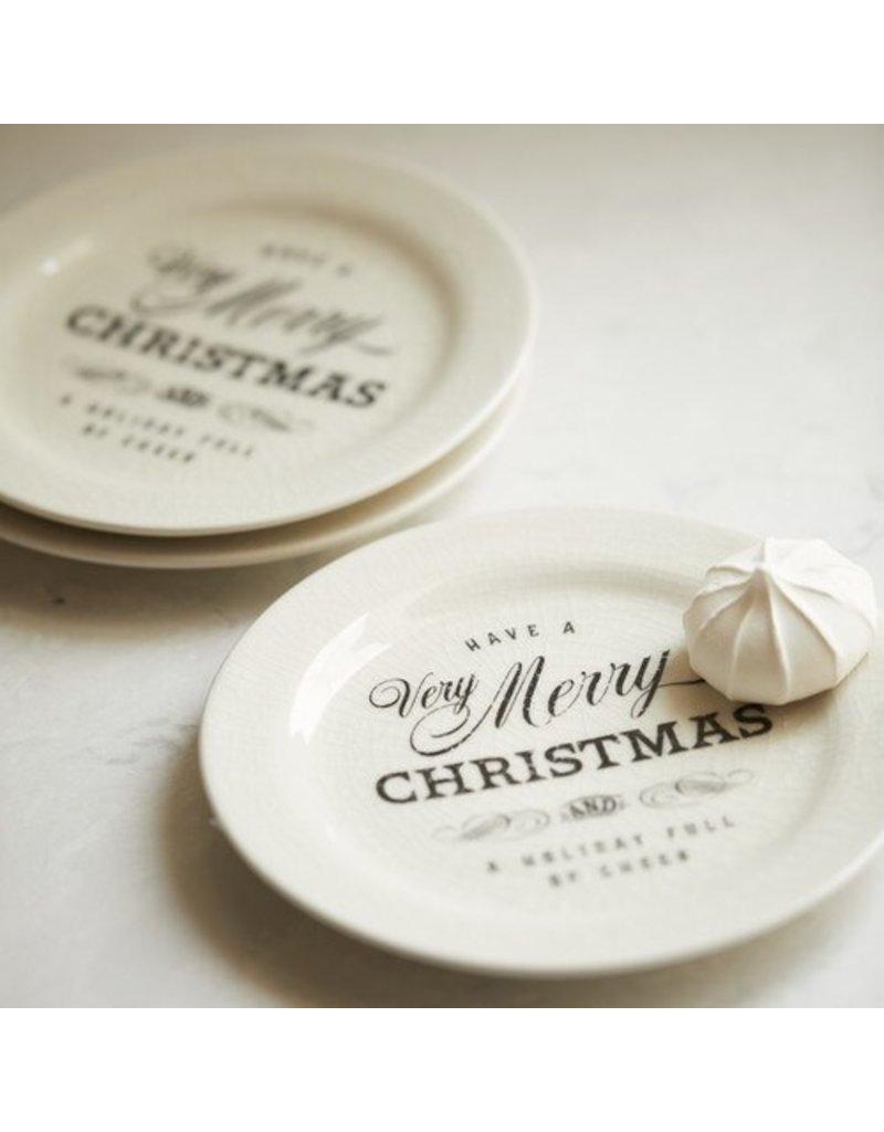 Very Merry Christmas  Snack Plate