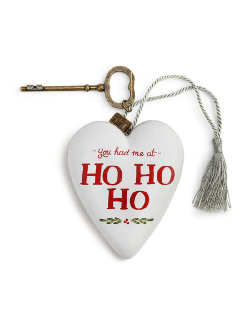 Ho Ho Ho Art Heart