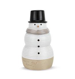 Snow Day Treats Snowman Cookie Jar