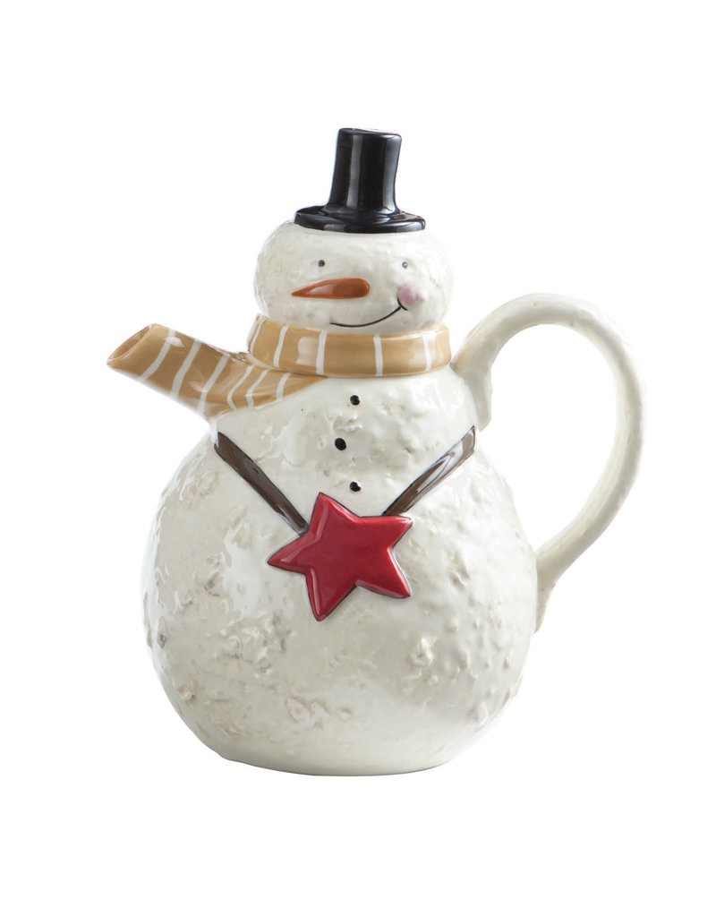Snow Friends Teapot