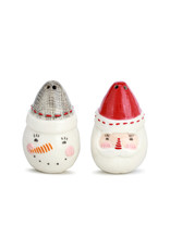 Seasoned Greeting S&P Shakers Set of 2