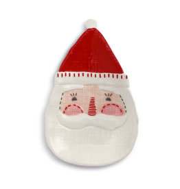 Seasons Greetings Santa Spoon Rest