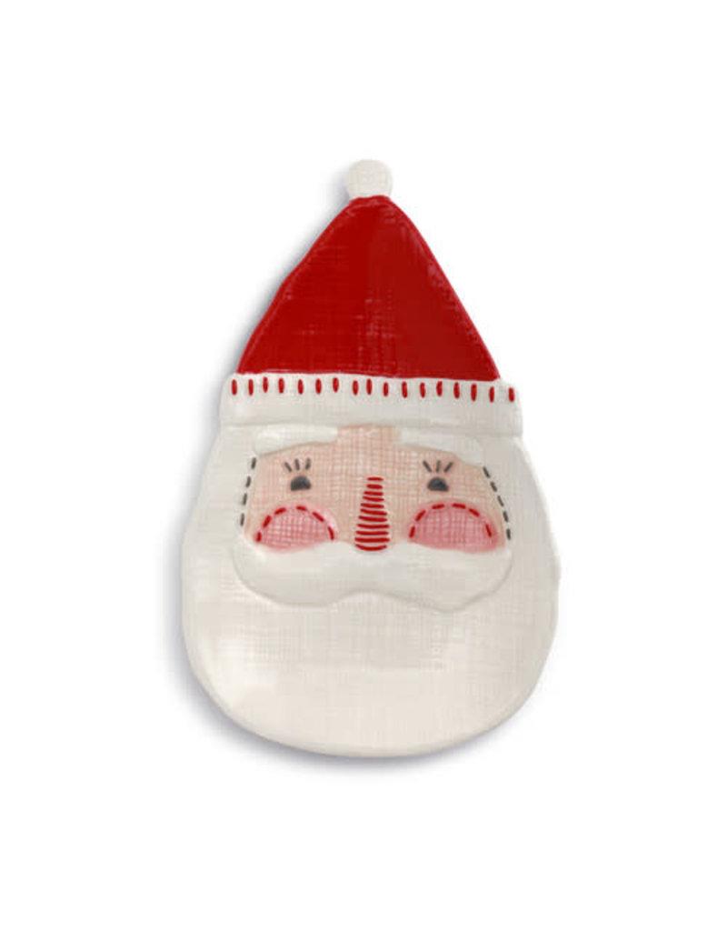 Seasons Greetings Santa Spoon Rest