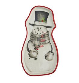 Sketchbook Snowman Spoon Rest