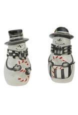 Sketchbook Snowman S&P Shaker Set of 2