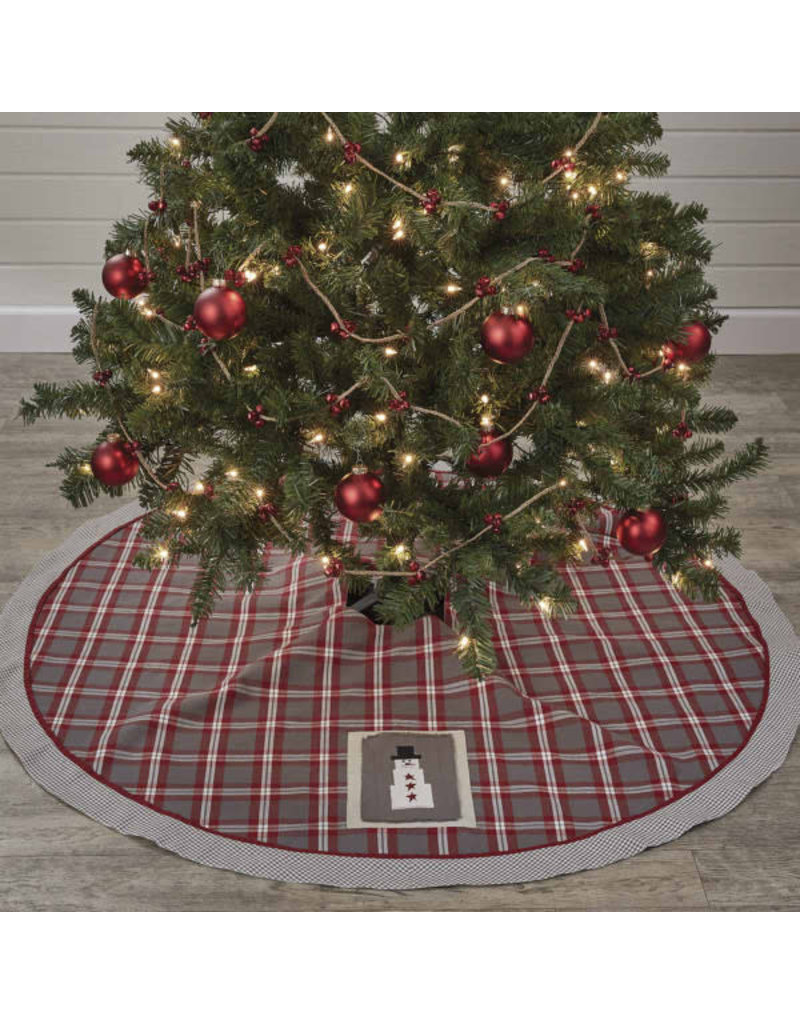 Farmhouse Holiday Tree Skirt