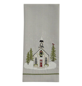 Church Embroidered Towel