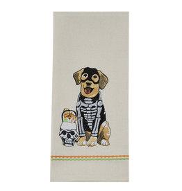 Bones Dog Towel
