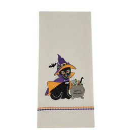 Witch Kitty Towel