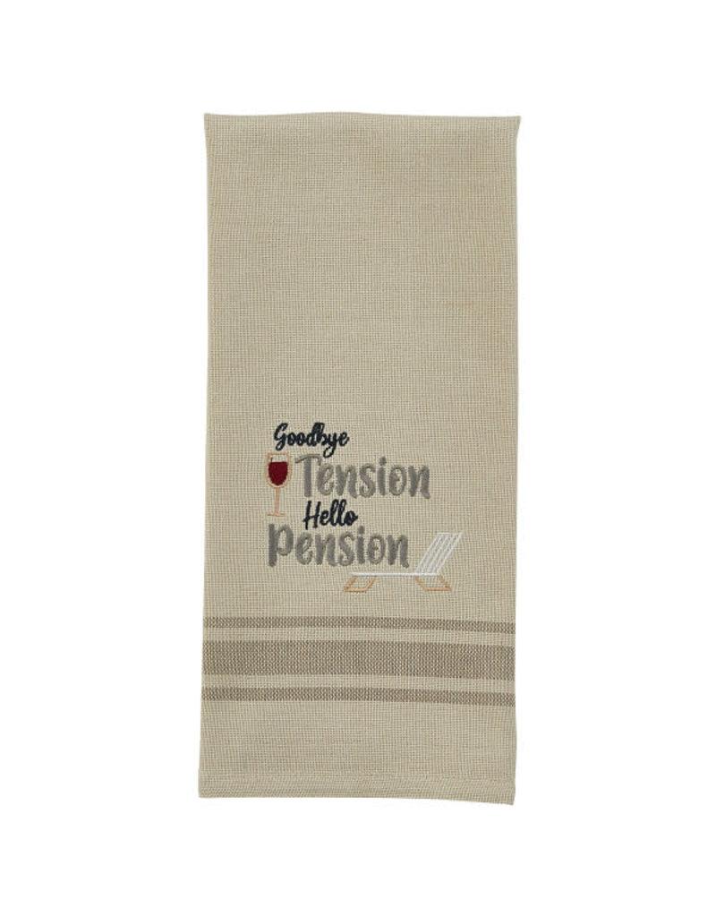 Goodbye Tension Towel