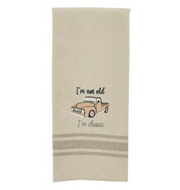 I'm Classic Embroidered Towel