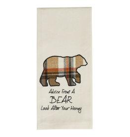 Advice From a Bear Towel