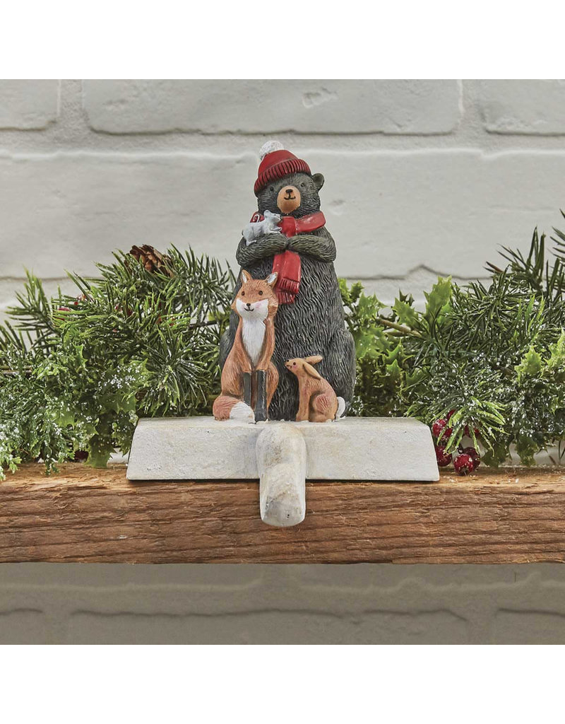 Bear and Friends Stocking Holder
