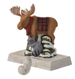 Moose and Friends Stocking Holder