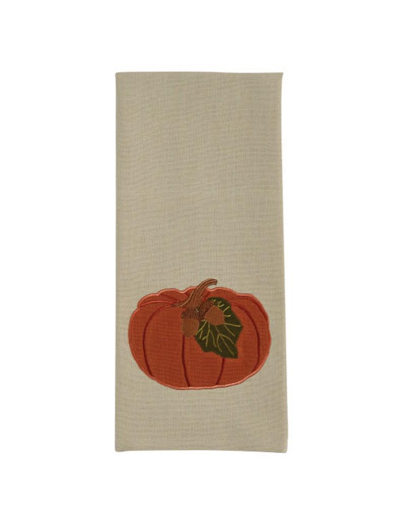 Pumpkin with Acorn Towel
