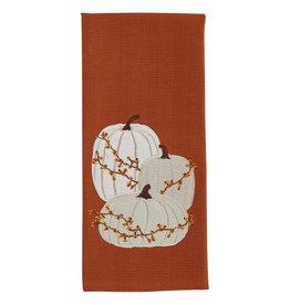Cream Pumpkins Towel