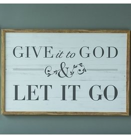 Give it to God Plaque