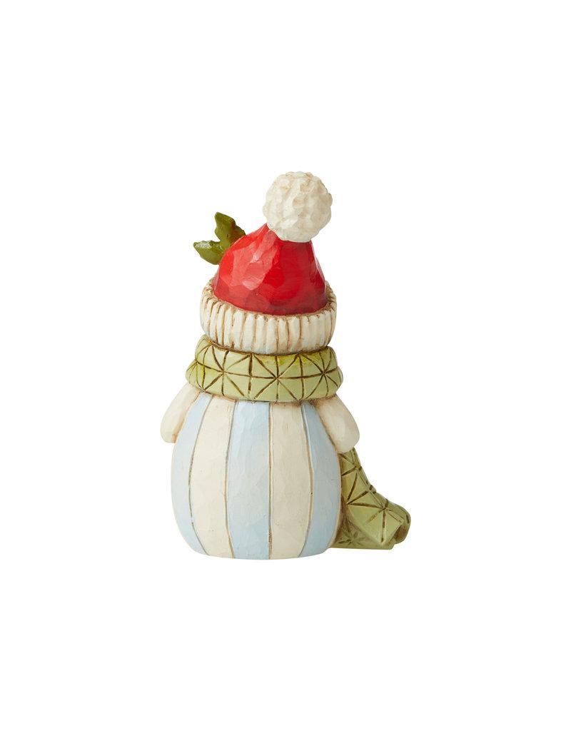 Jim Shore Mini Snowman  with Pom Pom