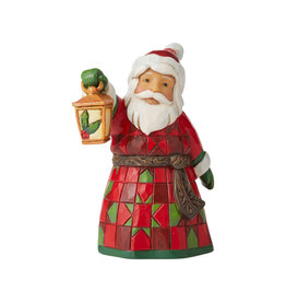 Jim Shore Mini Santa with Lantern