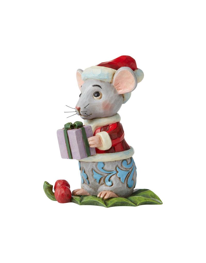 Jim Shore Mini Christmas Mouse