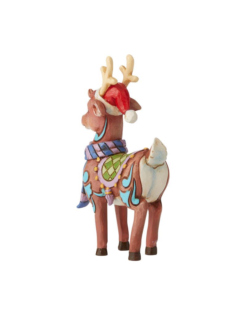 Jim Shore Mini Reindeer