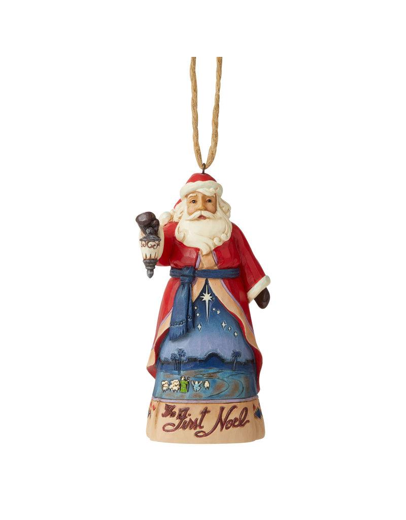 Jim Shore The First Noel Santa Ornament