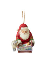 Jim Shore Santa Baby Jesus Ornament