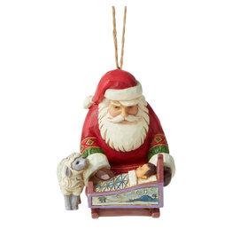 Jim Shore Santa Baby Jesus Ornament