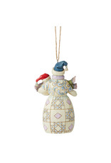 Jim Shore Snowman with Snowbaby Ornament