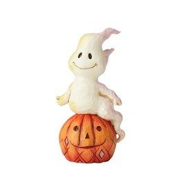 Jim Shore Ghost and Pumpkin