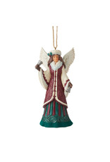 Jim Shore Victorian Angel with Hand Bell Ornament