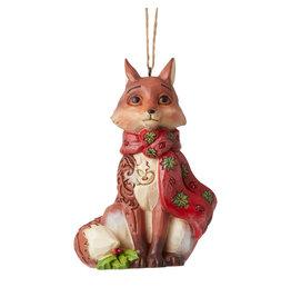 Jim Shore Wonderland Fox Ornament