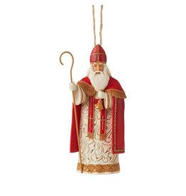 Jim Shore Belgian Santa Ornament