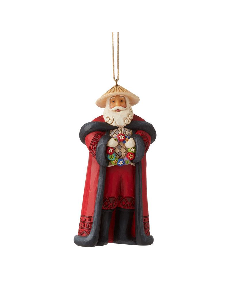 Jim Shore Filipino Santa Ornament