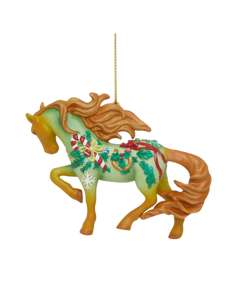 Trail of Painted Ponies Vintage Christmas Ornament