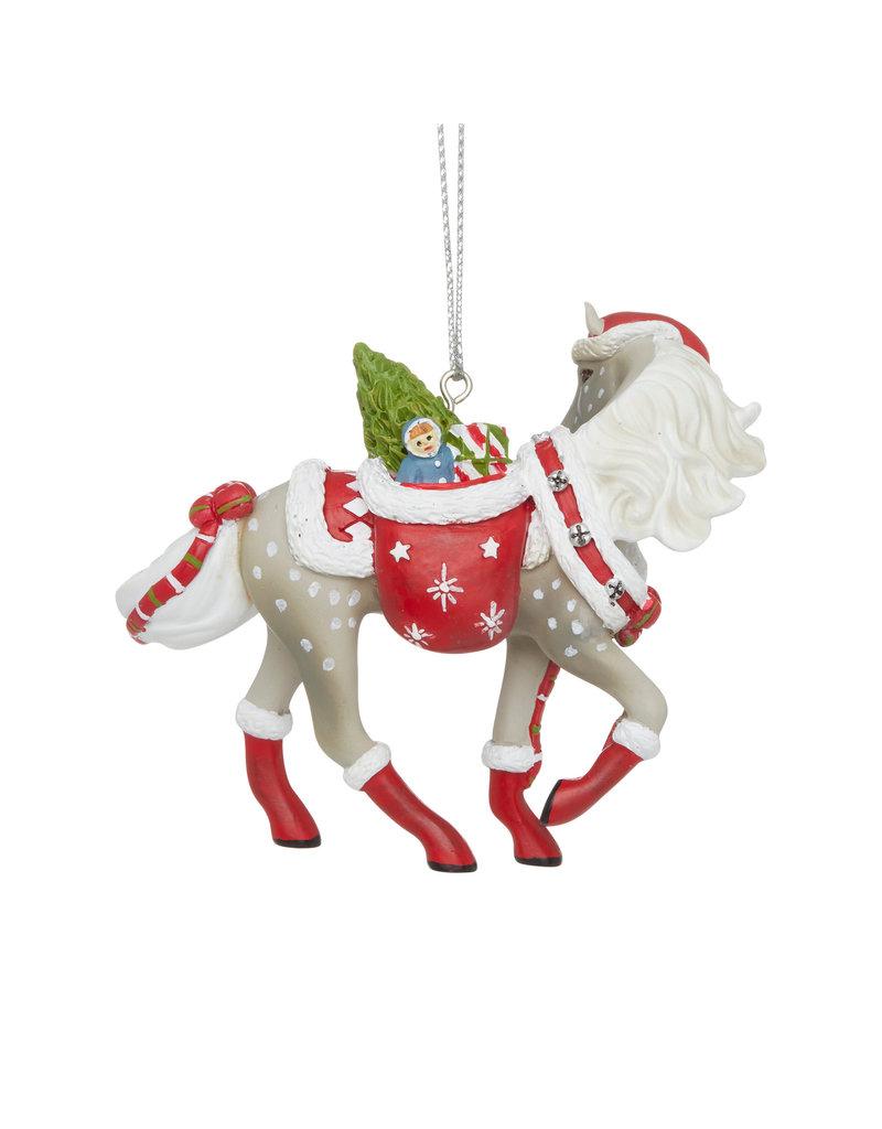 Trail of Painted Ponies Santa's Little Helper Ornament