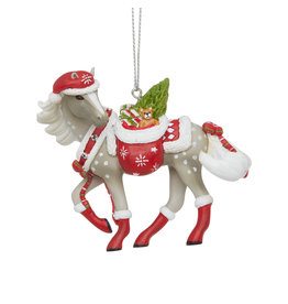 Trail of Painted Ponies Santa's Little Helper Ornament