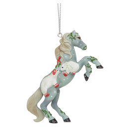 Trail of Painted Ponies Mistletoe Kisses Ornament