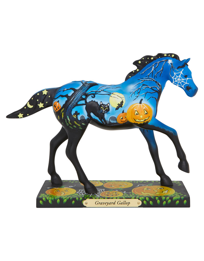 Trail of Painted Ponies Graveyard Gallop Figure