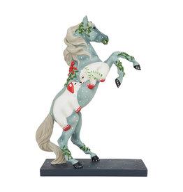 Trail of Painted Ponies Mistletoe Kisses Figure
