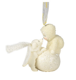 Snowbabies Let's Make a Snowball Ornament