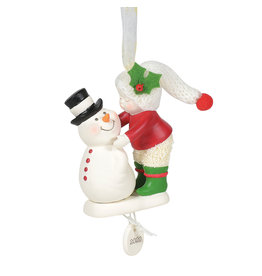2020 Snowbabies Frosty Kisses Ornament