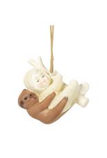 Snowbabies Peaceful Kingdom Sloth Ornament