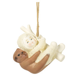 Snowbabies Peaceful Kingdom Sloth Ornament