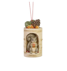 Woodland Squirrel Ornament