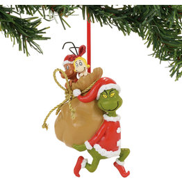 Grinch Santa Stowaways