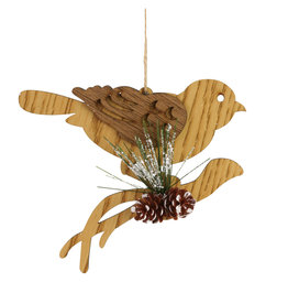Christmas Crafts Bird on Branch