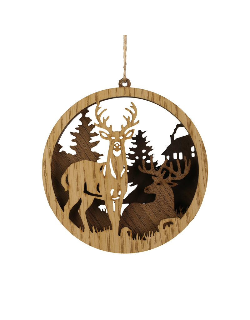 Christmas Crafts Deer Circle