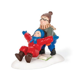 Department 56 Ralphie to the Rescue for A Christmas Story Village